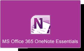 Microsoft Office 365 OneNote Essentials Training Course